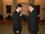Dyrektor Domu Rafał Gużkowski odznaczony przez Prezydenta RP - miniatura