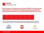 Prezentacja realizacji projektu SWISS - miniatura