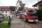 Ćwiczenia przeciwpożarowe w Domu Pomocy Społecznej w Foluszu - miniatura